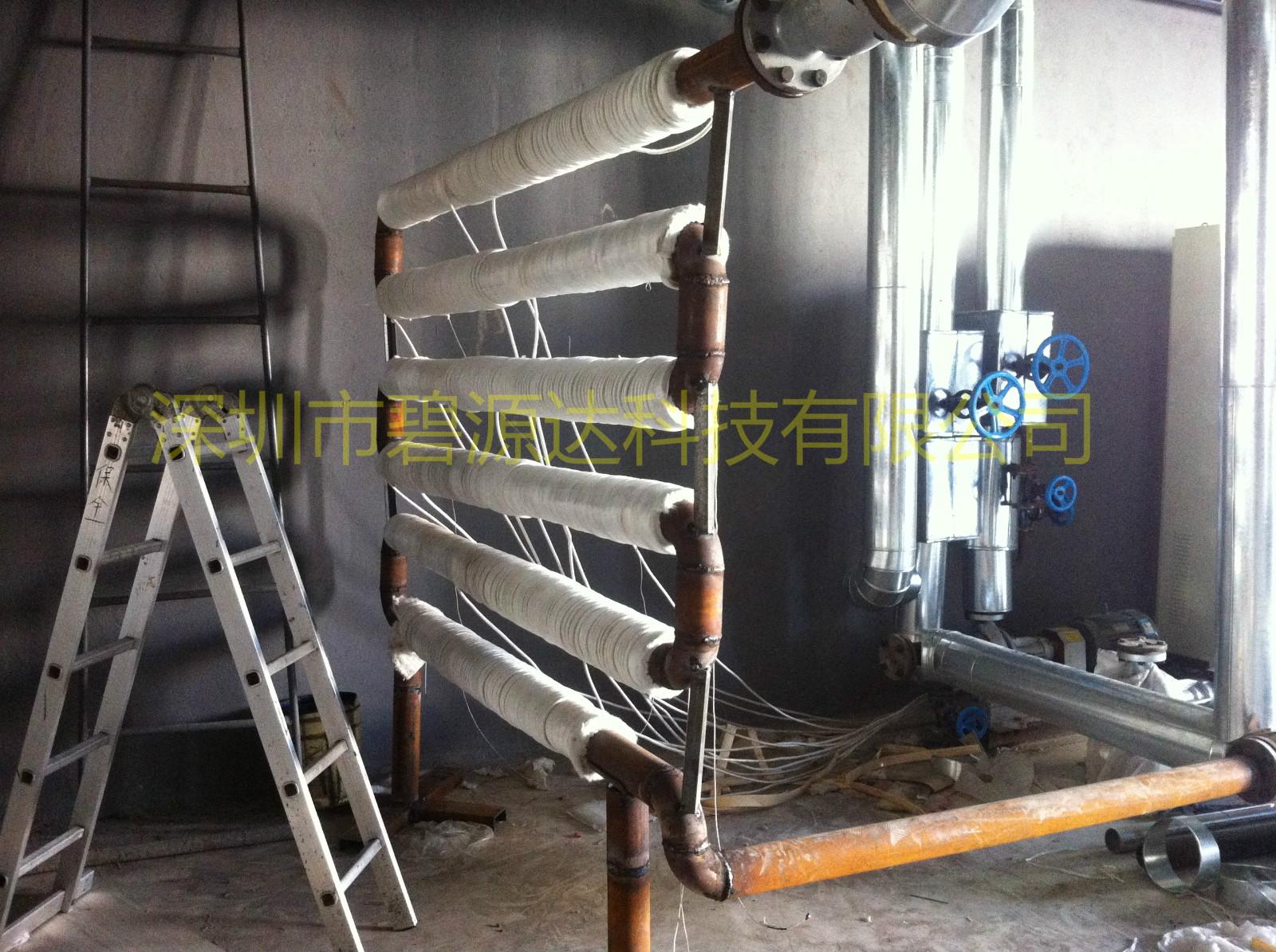 反应釜导热油管道电磁加热器改造
